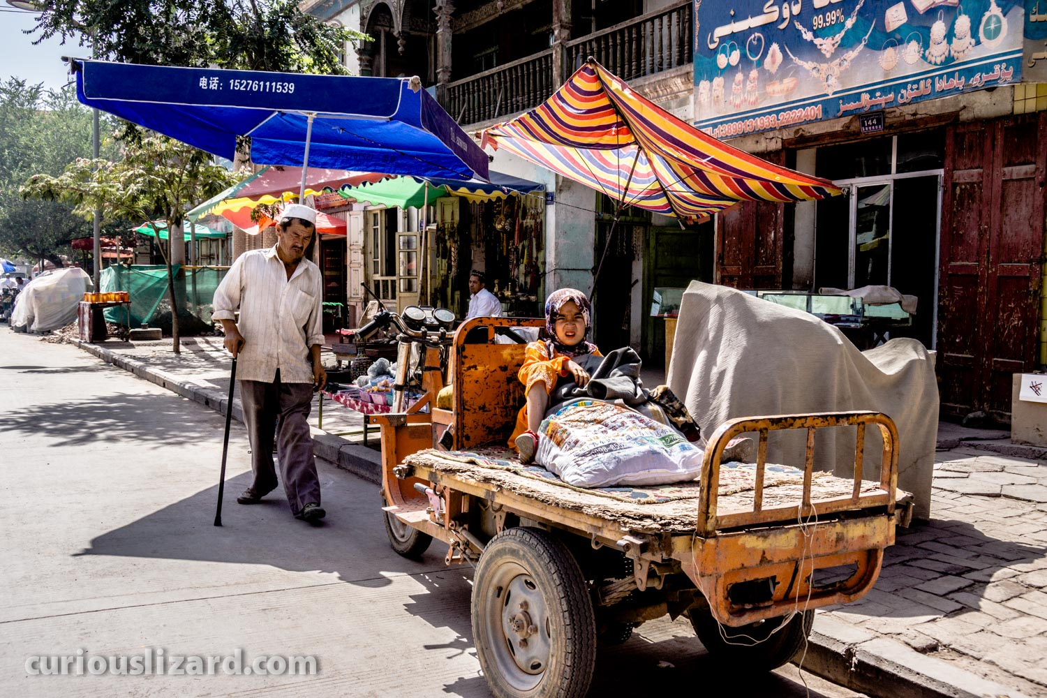 Getting Around. Kashgar. Xinjiang, China.