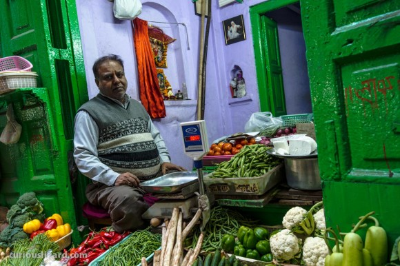 Vegetables. Delhi, India. 2016