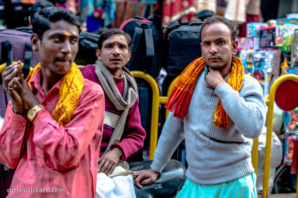 Hindu Devotees. Varanasi, India.