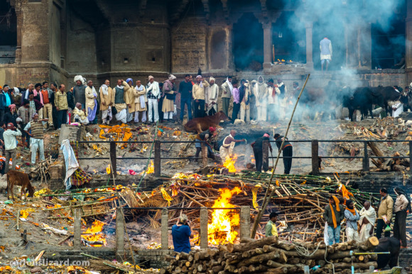 Varanasi Cremation on the Ganges River